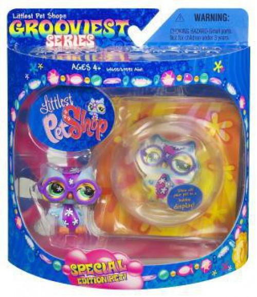 Littlest Pet Shop Grooviest Series Owl Figure