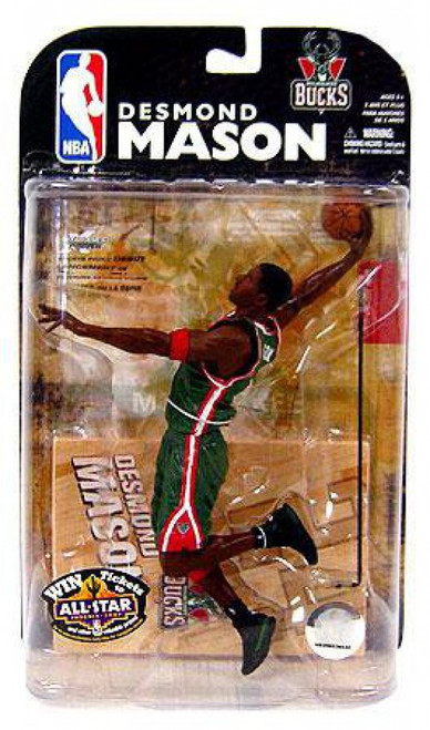 McFarlane Toys NBA Milwaukee Bucks Sports Picks Series 15 Desmond Mason Action Figure