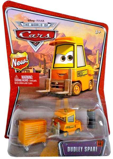 Disney / Pixar Cars The World of Cars Series 1 Dudley Spare Diecast Car