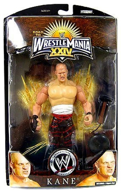 WWE Wrestling Road to WrestleMania 24 Series 1 Kane Exclusive Action Figure