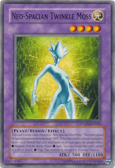 YuGiOh GX Trading Card Game Phantom Darkness Common Neo-Spacian Twinkle Moss PTDN-EN042