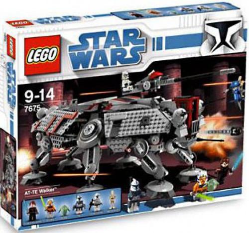 LEGO Star Wars The Clone Wars AT-TE Walker Set #7675