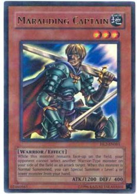 YuGiOh Hobby League Parallel Rare Marauding Captain HL2-EN005