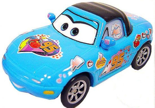 Disney / Pixar Cars Dinoco Tia Diecast Car [Loose]