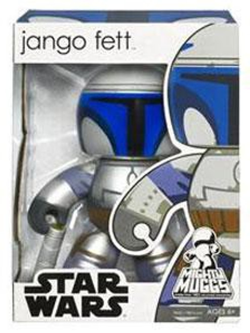 Star Wars Attack of the Clones Mighty Muggs Wave 3 Jango Fett Vinyl Figure
