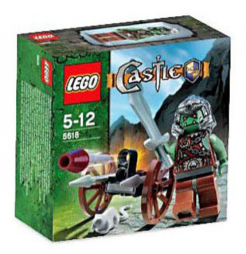 LEGO Castle Troll Warrior Set #5618