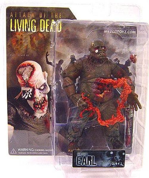 Attack of the Living Dead Afterlife Earl Action Figure [Brown Skin]