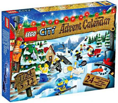 LEGO City 2008 Advent Calendar Set #7724