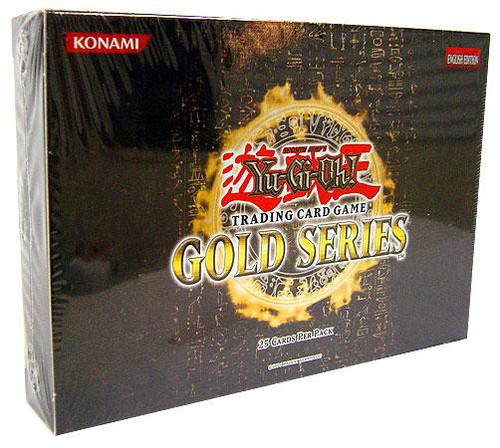 YuGiOh Trading Card Game 2008 Gold Series 1 Exclusive Booster Pack [25 Cards]