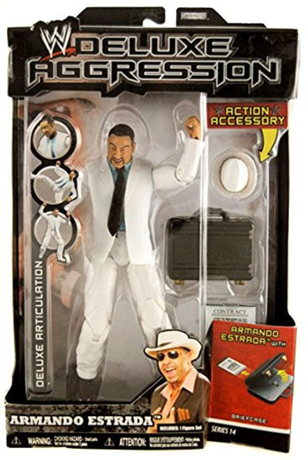 WWE Wrestling Deluxe Aggression Series 14 Armando Estrada Action Figure