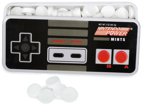 Nintendo Power Controller Mints .8 Ounce Candy