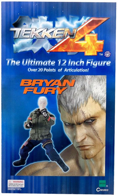 Tekken 4 Bryan Fury 12-Inch Collectible Figure