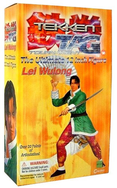 Tekken Tag Tournament Lei Wulong 12-Inch Collectible Figure