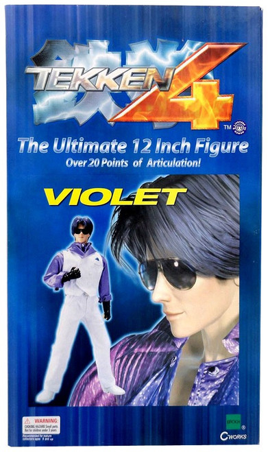 Tekken 4 Violet 12-Inch Collectible Figure
