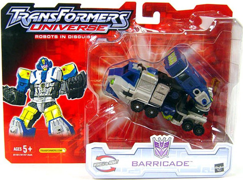 Transformers Universe Robots in Disguise Barricade Action Figure