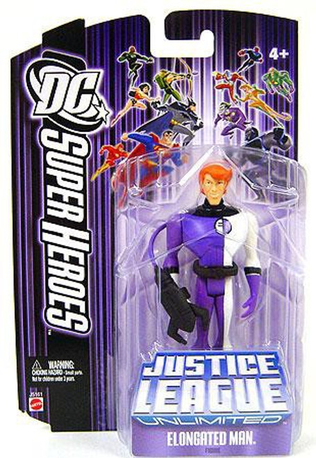 DC Justice League Unlimited Super Heroes Elongated Man Action Figure [Purple Card]