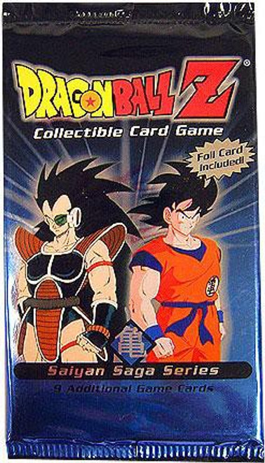 Dragon Ball Z Collectible Card Game Saiyan Saga Series Booster Pack [9 Cards]