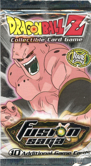 Dragon Ball Z Collectible Card Game Fusion Saga Booster Pack