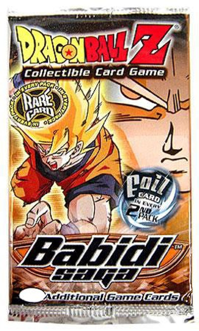 Dragon Ball Z Collectible Card Game Babidi Saga Booster Pack