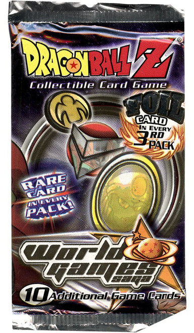 Dragon Ball Z Collectible Card Game World Games Saga Booster Pack [10 Cards]