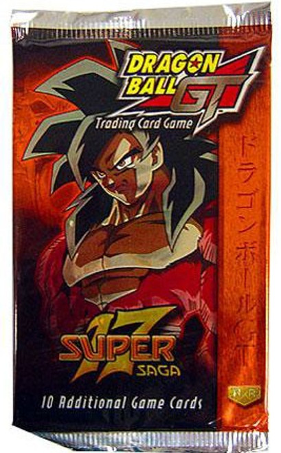 Dragon Ball GT Trading Card Game Super 17 Saga Booster Pack [10 Cards]