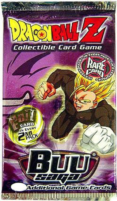 Dragon Ball Z Collectible Card Game Buu Saga Booster Pack [10 Cards]