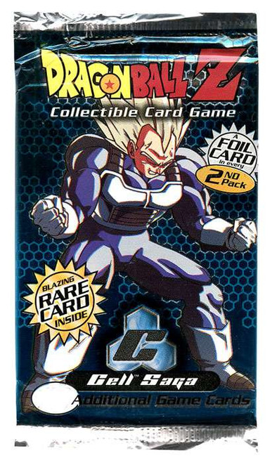 Dragon Ball Z Collectible Card Game Cell Saga Booster Pack