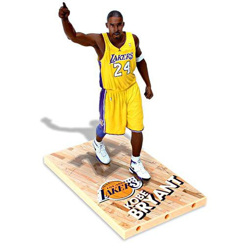 McFarlane Toys NBA Los Angeles Lakers Sports Picks Series 11 Kobe Bryant Action Figure [Yellow Jersey Variant]