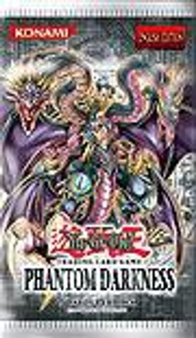 YuGiOh Trading Card Game Phantom Darkness Booster Pack