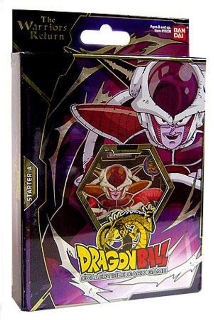 Dragon Ball Z Collectible Card Game Warriors Return Frieza Theme Deck [A]