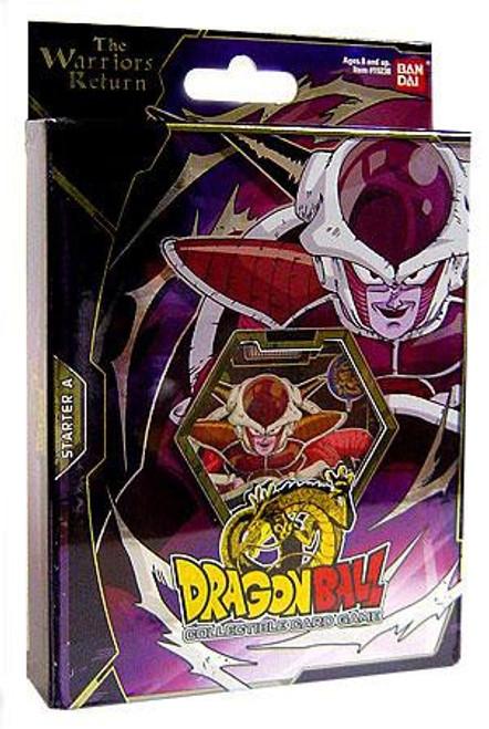Dragon Ball Collectible Card Game Warriors Return Frieza Theme Deck [A]
