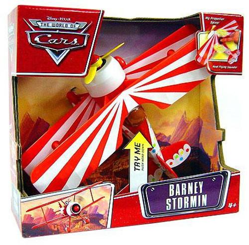 Disney / Pixar Cars The World of Cars Deluxe Barney Stormin' Plane