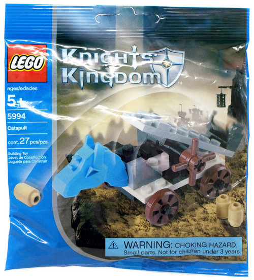 LEGO Knights Kingdom Catapult Mini Set #5994 [Bagged]