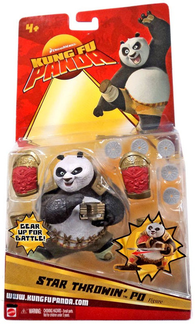 Kung Fu Panda Po Action Figure [Star Throwin]