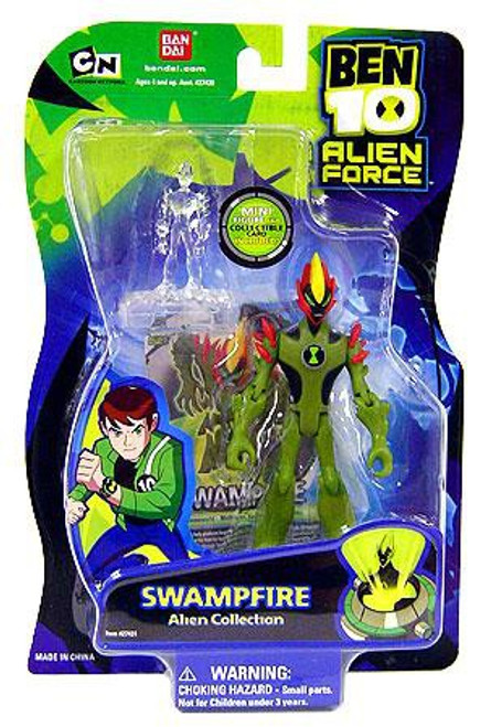 Ben 10 Alien Force Alien Collection Swampfire Action Figure