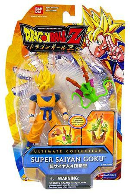 Dragon Ball Z Ultimate Collection Super Saiyan Goku 4-Inch PVC Figure