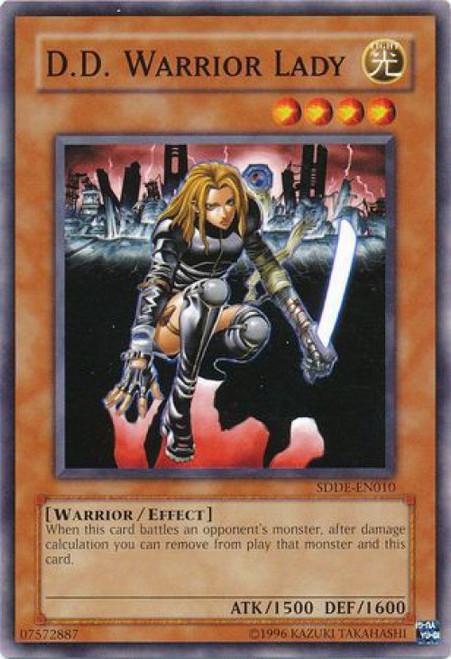 YuGiOh GX The Dark Emperor Common D.D. Warrior Lady SDDE-EN010