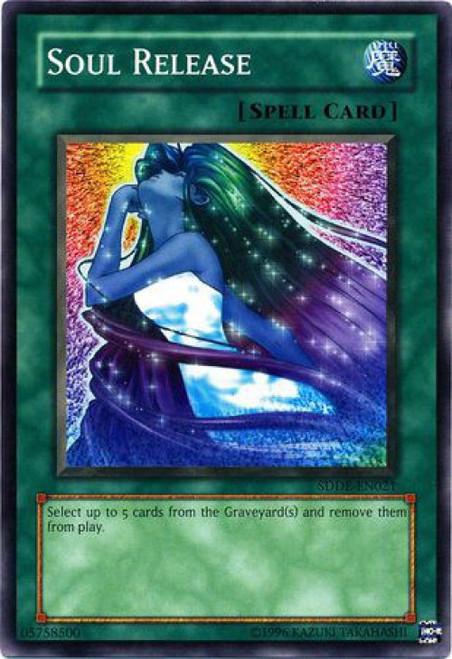 YuGiOh GX Trading Card Game The Dark Emperor Common Soul Release SDDE-EN021