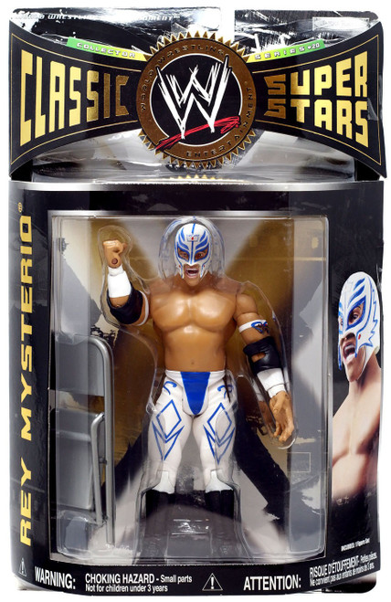 WWE Wrestling Classic Superstars Series 20 Rey Mysterio Action Figure