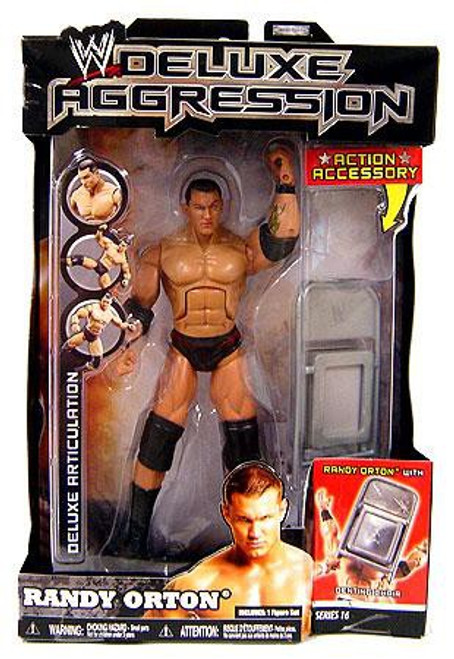 WWE Wrestling Deluxe Aggression Series 16 Randy Orton Action Figure