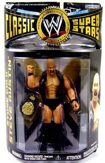 WWE Wrestling Classic Superstars Series 22 Stone Cold Steve Austin Action Figure
