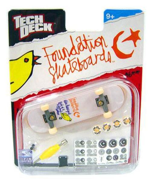 Tech Deck Foundation 96mm Mini Skateboard [Mike Rusczyk]