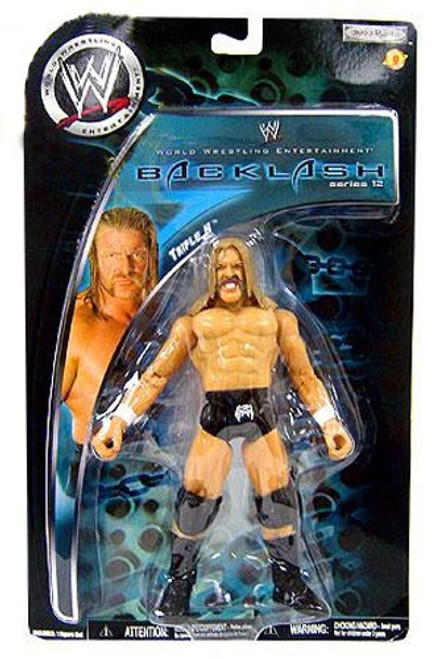 WWE Wrestling Backlash Series 12 Triple H Action Figure