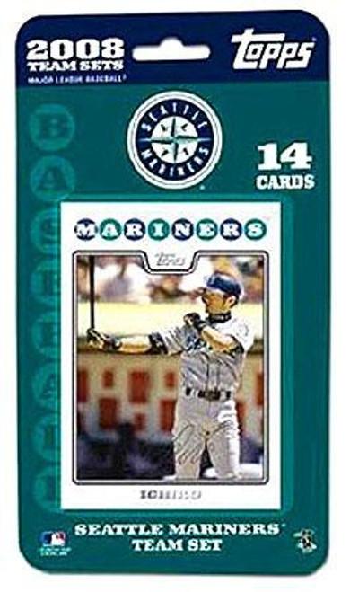 MLB 2008 Baseball Seattle Mariners Trading Card Team Set
