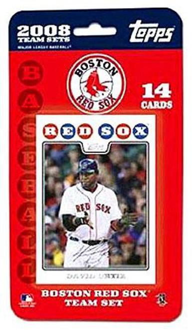 MLB 2008 Baseball Boston Red Sox Trading Card Team Set