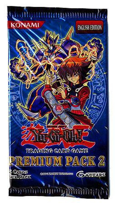 YuGiOh Trading Card Game Premium Pack 2 Booster Pack