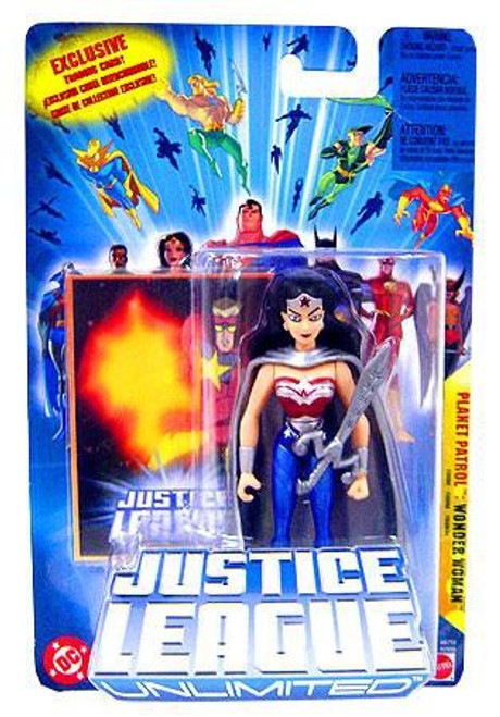 Justice League Unlimited Wonder Woman Action Figure [Planet Patrol]