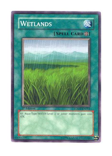 YuGiOh GX Trading Card Game Light of Destruction Common Wetlands LODT-EN054