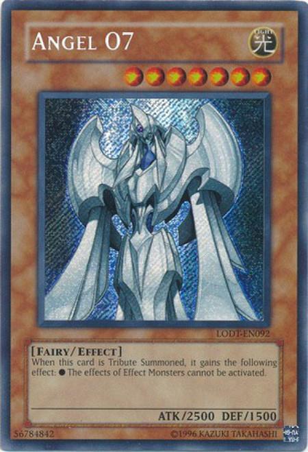YuGiOh GX Trading Card Game Light of Destruction Secret Rare Angel 07 LODT-EN092
