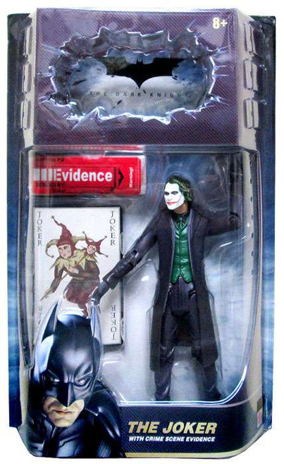 Batman The Dark Knight Crime Scene Evidence The Joker Action Figure